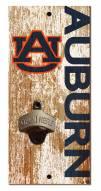 "Auburn Tigers 6"" x 12"" Distressed Bottle Opener"