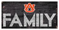 "Auburn Tigers 6"" x 12"" Family Sign"