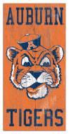 "Auburn Tigers 6"" x 12"" Heritage Logo Sign"