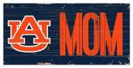"""Auburn Tigers 6"""" x 12"""" Mom Sign"""