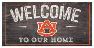 "Auburn Tigers 6"" x 12"" Welcome Sign"
