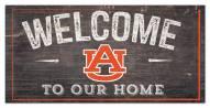 "Auburn Tigers 6"" x 12"" Welcome Sign"