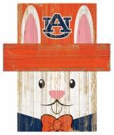 "Auburn Tigers 6"" x 5"" Easter Bunny Head"