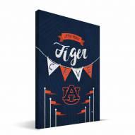 """Auburn Tigers 8"""" x 12"""" Little Man Canvas Print"""