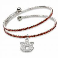 Auburn Tigers Amped Logo Crystal Bracelet