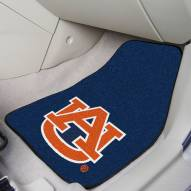 "Auburn Tigers ""AU"" 2-Piece Carpet Car Mats"