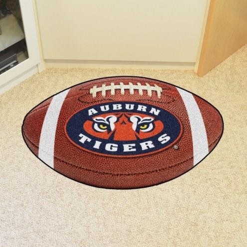 """Auburn Tigers """"AU"""" Football Floor Mat"""