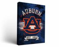 Auburn Tigers Banner Canvas Wall Art