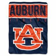Auburn Tigers Basic Plush Raschel Blanket
