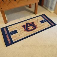 Auburn Tigers Basketball Court Runner Rug