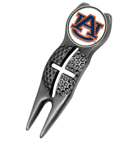 Auburn Tigers Black Crosshairs Divot Tool