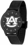 Auburn Tigers Black Dial Mesh Statement Watch