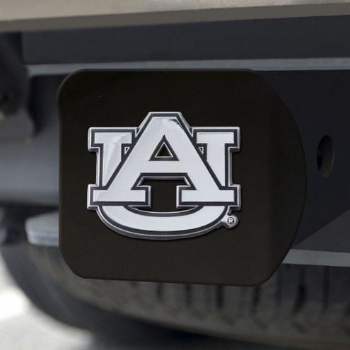 Auburn Tigers Black Matte Hitch Cover