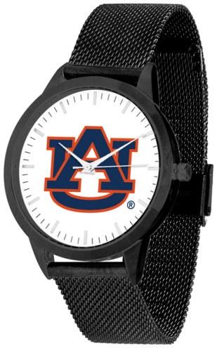 Auburn Tigers Black Mesh Statement Watch
