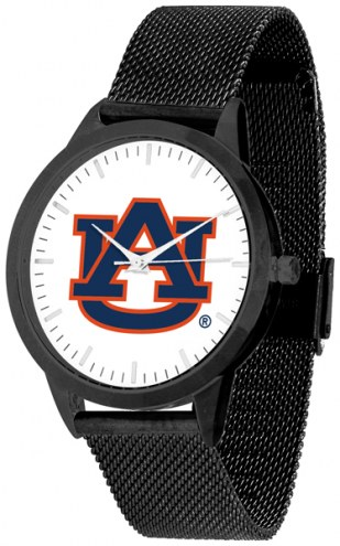 Auburn Tigers Black Mesh Statement Watch