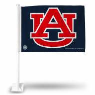 Auburn Tigers Blue Car Flag