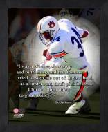 Auburn Tigers Bo Jackson Framed Pro Quote