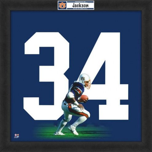 Auburn Tigers Bo Jackson Uniframe Framed Jersey Photo