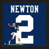Auburn Tigers Cam Newton Uniframe Framed Jersey Photo