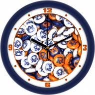 Auburn Tigers Candy Wall Clock