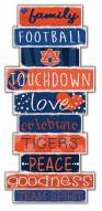Auburn Tigers Celebrations Stack Sign