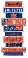 Auburn Tigers Celebrations Stack Sign
