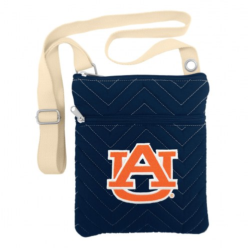 Auburn Tigers Chevron Stitch Crossbody Bag