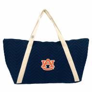 Auburn Tigers Chevron Stitch Weekender Bag