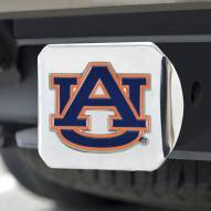 Auburn Tigers Chrome Color Hitch Cover