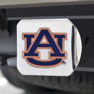 Auburn Tigers Chrome Color Hitch Cover