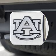 Auburn Tigers Chrome Metal Hitch Cover