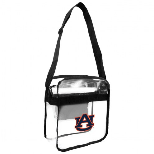 Auburn Tigers Clear Crossbody Carry-All Bag