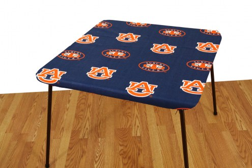 Auburn Tigers Card Table Cover