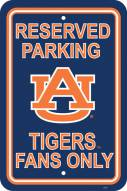 Auburn Tigers College Parking Sign