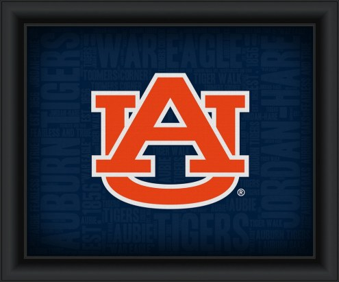 Auburn Tigers College Word Cloud