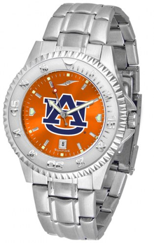 Auburn Tigers Competitor Steel AnoChrome Men's Watch
