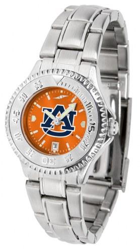 Auburn Tigers Competitor Steel AnoChrome Women's Watch