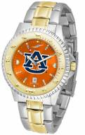Auburn Tigers Competitor Two-Tone AnoChrome Men's Watch