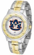Auburn Tigers Competitor Two-Tone Men's Watch