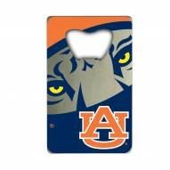 Auburn Tigers Credit Card Style Bottle Opener