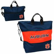 Auburn Tigers Crosshatch Expandable Tote