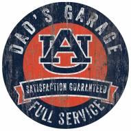 Auburn Tigers Dad's Garage Sign