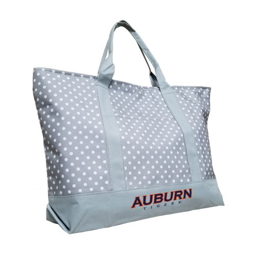 Auburn Tigers Dot Tote Bag