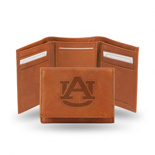 Auburn Tigers Embossed Tri-Fold Wallet