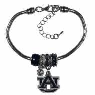 Auburn Tigers Euro Bead Bracelet