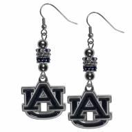 Auburn Tigers Euro Bead Earrings