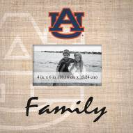 Auburn Tigers Family Picture Frame