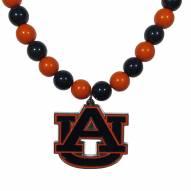 Auburn Tigers Fan Bead Necklace