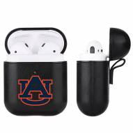 Auburn Tigers Fan Brander Apple Air Pods Leather Case