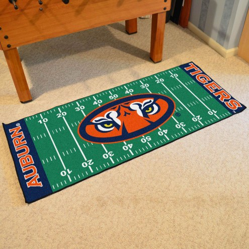 Auburn Tigers Football Field Runner Rug